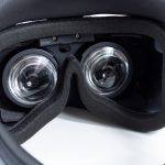 Acer Windows Mixed Reality Headset (Back) View of Lenses Inside
