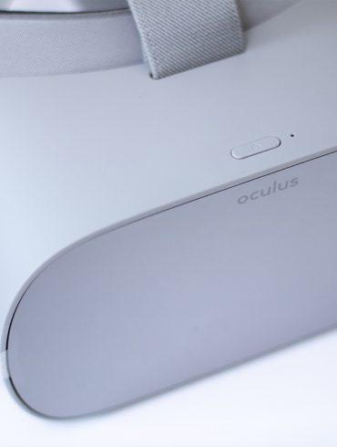 Oculus Go Headset Front