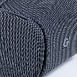 Google Daydream View side of headset with 'G' Google logo branding.