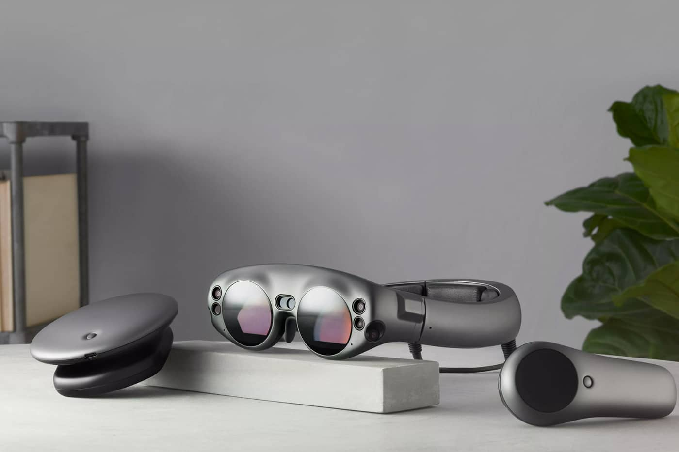 Magic Leap One on Desk
