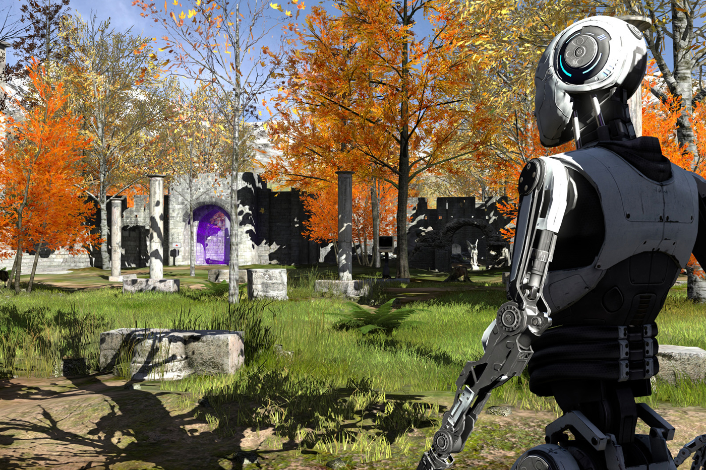 The Talos Principle VR Game