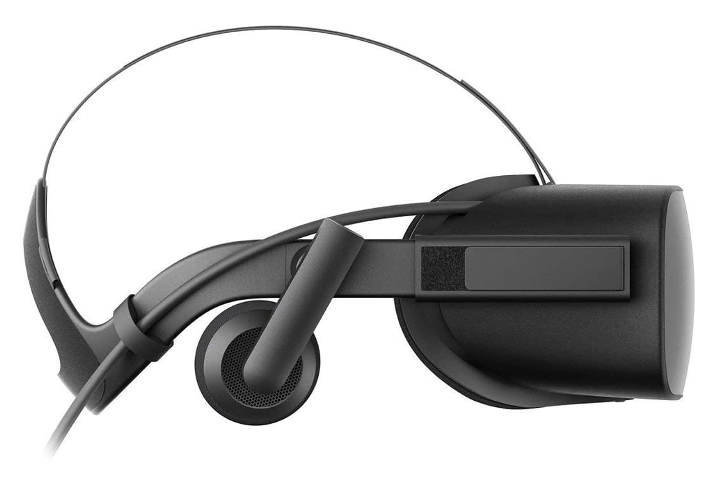 Side View of the Oculus Rift VR Headset