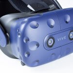 HTC Vive Pro - side of VR headset